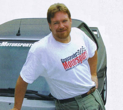 Tim Suddard - Publisher of Grassroots Motorsports Magazine